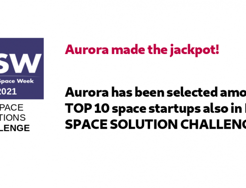 Aurora has been selected among TOP 10 space startups in ESA SPACE SOLUTION CHALLENGE